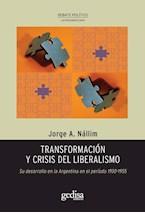 Papel TRANSFORMACION Y CRISIS DEL LIBERALISMO