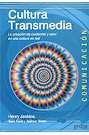 Papel CULTURA TRANSMEDIA (COLECCION COMUNICACION 60)