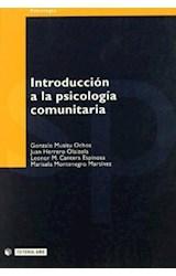 Papel Introducción a la psicología comunitaria