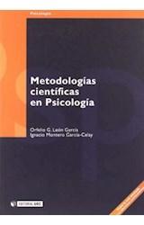 Papel METODOLOGIAS CIENTIFICAS EN PSICOLOGIA