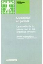 Papel SOCIABILIDAD EN PANTALLA