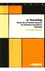Papel E-TEACHING (TEORIA DE LA FUNCION DOCENTE EN ENTORNOS EDUCATI