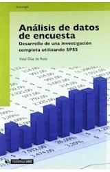 Papel Análisis de datos de encuesta