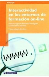 Papel INTERACTIVIDAD EN LOS ENTORNOS DE FORMACION ON-LINE