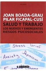 Papel SALUD Y TRABAJO LOS NUEVOS EMERGENTES