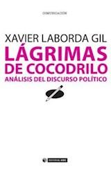 Papel LAGRIMAS DE COCODRILO ANALISIS DEL DISCURSO