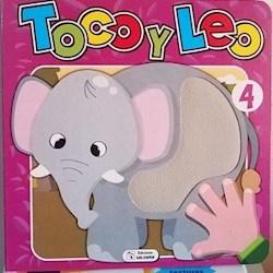 Libro Tooco Y Leo - Elefante 4 (Texturado)