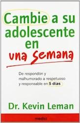 Libro Cambie A Su Adolescente