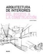 Papel ARQUITECTURA DE INTERIORES DEL BOCETO A LA CONSTRUCCION  (RUSTICO)