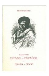 Papel DICCIONARIO GITANO ESPAEOL Y ESPAEOL GITANO