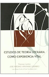 Papel ESTUDIOS DE TEORIA DE LA LITERATURA