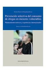 Papel Prevención selectiva del consumo de drogas en menores vulnerables