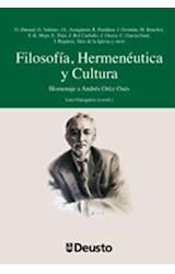 E-book Filosofía, Hermenéutica y Cultura