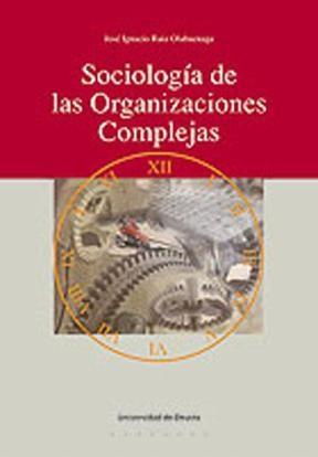 E-book Sociología De Las Organizaciones Complejas
