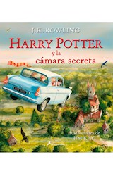Papel HARRY POTTER Y LA CAMARA SECRETA ( ILUSTRADO )