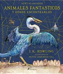 Papel Animales Fantasticos Y Donde Encontrarlos Ilustrado