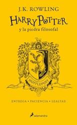 Libro Harry Potter Y La Piedra Filosofal ( Hufflepuff )20 Aniversario