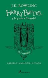 Libro Harry Potter Y La Piedra Filosofal ( Slytherin )20 Aniversario