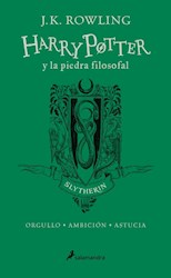 Papel Harry Potter Y La Piedra Filosofal Td - Slytherin