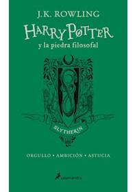 Papel Harry Potter Y La Piedra Filosofal - Slytherin