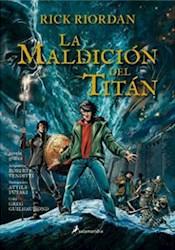 Papel Percy Jackson La Maldicion Del Titan Novela Grafica