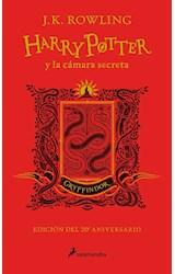 Papel HARRY POTTER Y LA CAMARA SECRETA [CASA GRYFFINDOR] [EDICION 20 ANIVERSARIO] (CARTONE)
