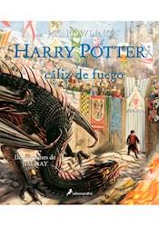 Papel Harry Potter 4 Y El Caliz De Fuego  Ilustrado Tapa Dura