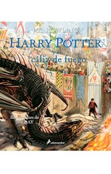 Papel HARRY POTTER Y EL CALIZ DE FUEGO [HARRY POTTER 4] [EDICION ILUSTRADA] (CARTONE)