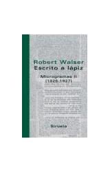 Papel ESCRITO A LAPIZ MICROGRAMAS II 1926-1927