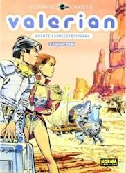 Papel Valerian Agente Espaciotemporal Vol.5