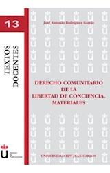 E-book Derecho comunitario de la libertad de conciencia. Materiales