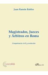 E-book Magistrados, jueces y árbitros en Roma