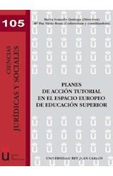 E-book Planes de acción tutorial en el espacio europeo de educación superior
