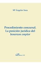 E-book Procedimiento concursal. La posición jurídica del bonorum emptor