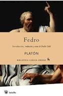 Papel FEDRO (BIBLIOTECA CLASICA GREDOS)
