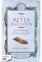 Papel LOS REYES MALDITOS III LOS VENENOS DE LA CORONA