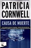 Papel CAUSA DE MUERTE (SERIE NEGRA)
