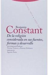 Papel DE LA RELIGION CONSIDERADA EN SUS FUENTES, FORMAS Y DESARROL