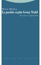 Papel LA PASION SEGUN GEORGE TRAKL