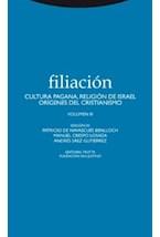 Papel FILIACION III CULTURA PAGANA, RELIGION DE ISRAEL