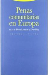 Papel PENAS COMUNITARIAS EN EUROPA