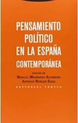 Papel PENSAMIENTO POLITICO EN LA ESPAÑA CONTEMPORANEA