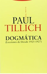 Papel DOGMATICA (LECCIONES DE DRESDE 1925-1927)