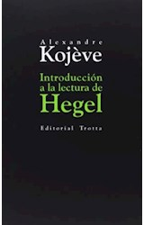 Papel INTRODUCCION A LA LECTURA DE HEGEL
