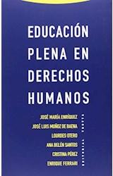 Papel EDUCACION PLENA EN DERECHOS HUMANOS