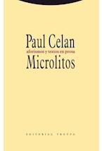 Papel MICROLITOS AFORISMO Y TEXTOS EN PROSA