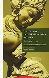 Libro Historia De La Literatura India Antigua