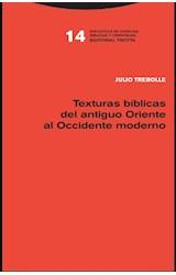 Papel TEXTURAS BIBLICAS DEL ANTIGUO ORIENTE AL OCCIDENTE MODERNO