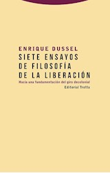 Papel SIETE ENSAYOS DE FILOSOFIA DE LA LIBERACION