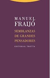 Papel SEMBLANZAS DE GRANDES PENSADORES